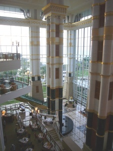 main LOBBY of the EMPIRE HOTEL, Brunei