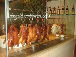 one of Beijing's famous dish : PEKING DUCK