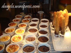 want some churros or creme brulee perhaps?