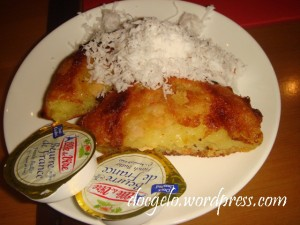 my bibingka tasted odd without sugar (muscovado) =(