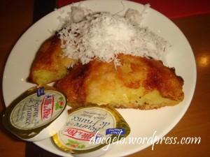 my bibingka tasted odd without sugar (muscovado) =(