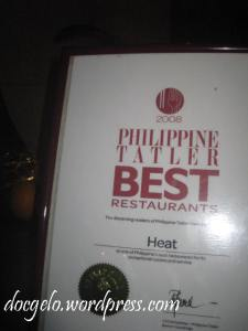 enough reason to try dining at HEAT