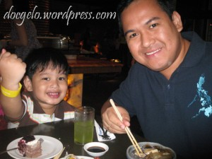 FOODIES : like father like son