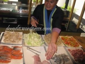 manong, puro seafoods pls! =)