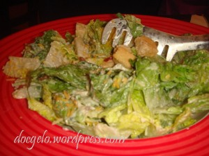 T.G.I. Friday's CAESAR's SALAD