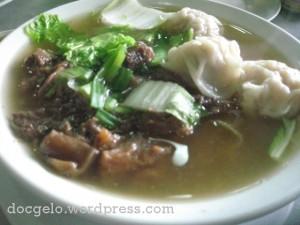 beef wanton noodle soup