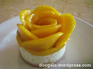 mango chiboust : simply divine