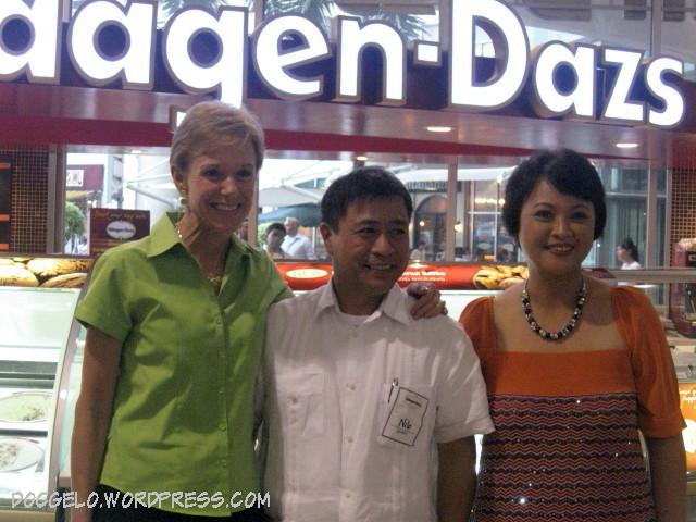 Haagen-Dazs Robinson's Place Manila Branch Opening