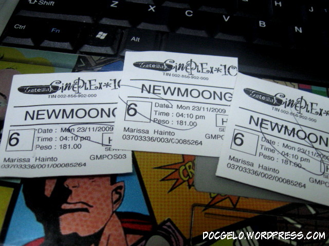 new moon tickets