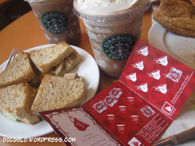 starbucks promo stickers